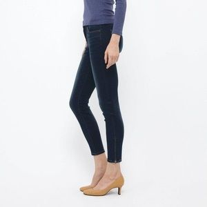 Uniqlo ankle zip skinny stretch jeans